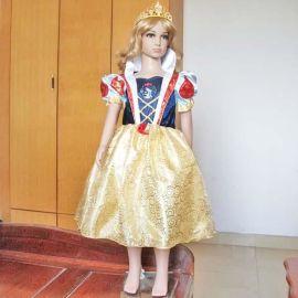 儿童白雪公主裙