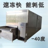 大产量鳕鱼排速冻冷冻机 锁鲜水产品带皮速冻机