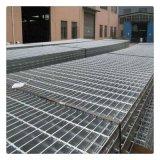 丹東電廠平臺熱鍍鋅鋼格柵板廠價供應齒形扇形鋼格柵板鋼梯價格低
