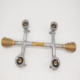 气罐连接液化气炉阀门转换头气瓶连接器烧烤炉