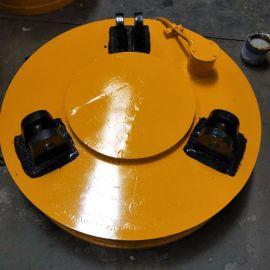 起重机用吸盘 **力圆形直径1.5米电磁吸盘