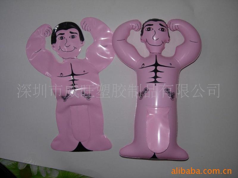 工廠專業生產PVC 充氣公仔,充氣禮品,廣告禮品