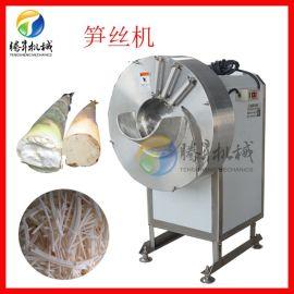 竹笋切丝切片设备 电动高速切笋机 竹笋切片切丝机