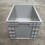 厂有直销灰色物流专用周转箱 可堆式折叠箱 现货标准尺寸塑料箱