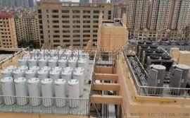 青島空氣源熱泵閉式承壓熱水系統工程供貨安裝