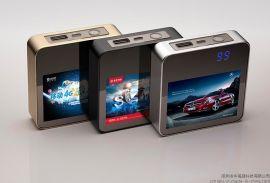 数显移动电源厂家批发 聚合物6600mAh 个性定制广告图片充电宝 电子礼品