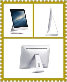 21.5寸苹果款电脑一体机 电脑一体机套件准系统