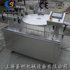 供应全自动西林瓶灌装旋盖机 圆盘定位式灌装口服液灌装旋盖