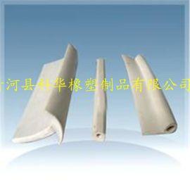 科华橡塑供应 方型白色硅胶发泡条 耐高温胶条