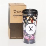 隔热杯 广告杯子星巴克风格办公马克杯水杯 创意礼品定制logo