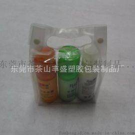 厂家**供应PVC手挽袋 PVC手挽透明化妆袋 规格不限