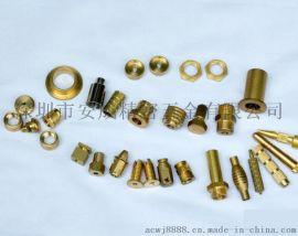 铜六角螺母 黄铜六角螺帽M2M2.5M3M