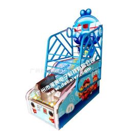 厂家供应儿童投篮游戏机猪猪侠篮球机儿童投币篮球机