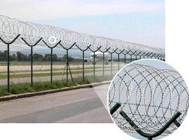 供应绿化带栅栏.运动场围栏.机场护栏网.栅栏墙-河北华久