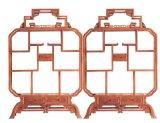 供應北京市非洲花梨木傢俱廠|非洲花梨木博古架東陽譽典福紅木傢俱