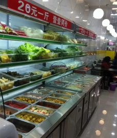 串串香串串菜点菜柜,砂锅麻辣烫冷藏展示柜