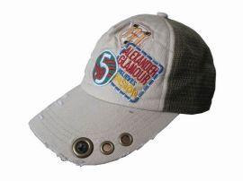 2013时尚纯棉刺绣网帽卡车帽