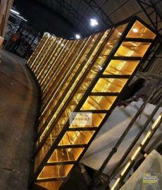 ktv不鏽鋼酒櫃定制 304不鏽鋼恆溫酒櫃 酒店不鏽鋼紅酒展示架