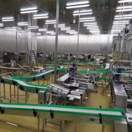模块网带输送机订制 食品级网带输送机厂家 转弯网带输送机价格