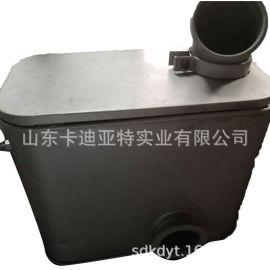 解放J6消声器总成(附带安装支架和进排气管)