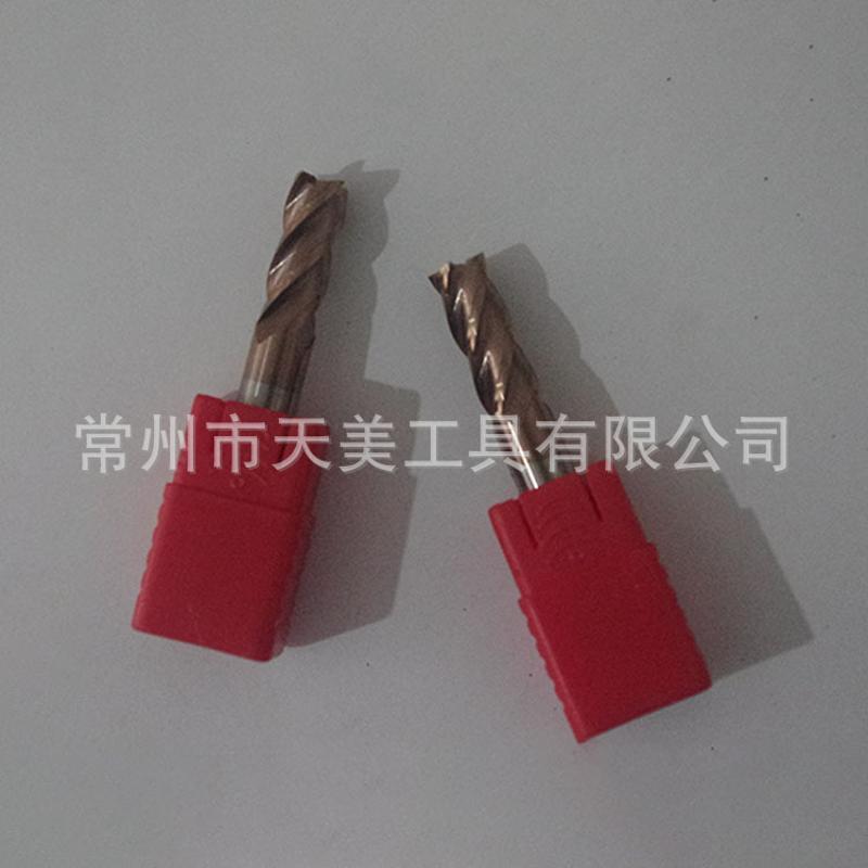 天美供應 HRC55°鎢鋼平底銑刀 非標定製