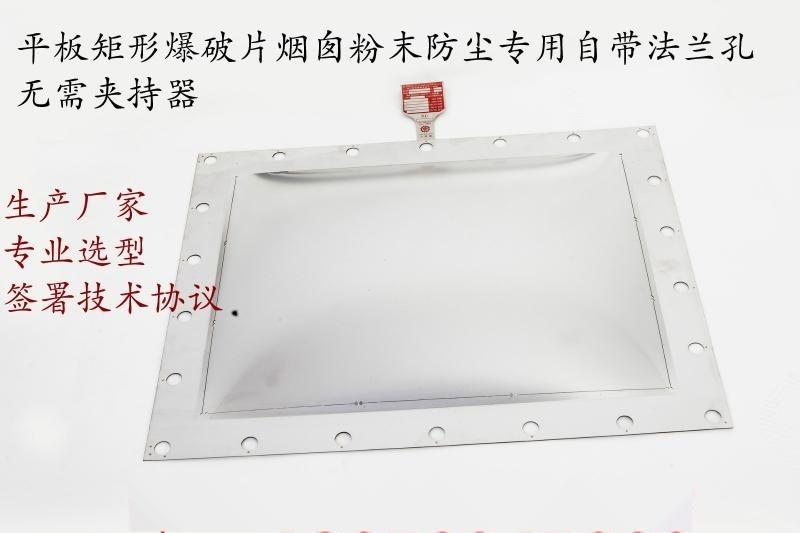 法兰低温储槽除尘器锅炉烟道  泄爆模反拱正拱平板型爆破片
