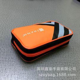 厂家定制创意便携旅行收纳包 韩版PVC化妆包定制LOGO杂物收纳袋