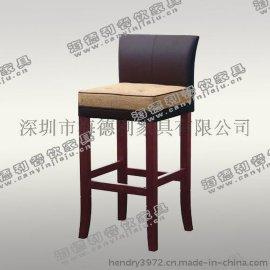 新款上市 现代餐厅/茶餐厅椅子 **实木软包椅 量大从优