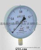 山东厂家专业生产YZ-100真空压力表 负压力表 全规格红旗轴向压力表