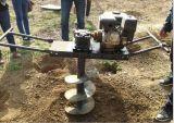 挖坑机视频【汽油挖坑机】挖坑机功率yyz
