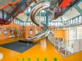 不锈钢滑梯组合滑梯 重庆朔行组合滑梯