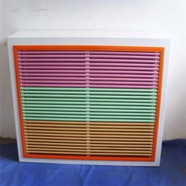 杭州铝合金空调罩 散热良好坚固耐用 外墙安装空调罩
