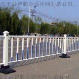 白色道路護欄 濱州市政護欄供應商 隔離欄杆