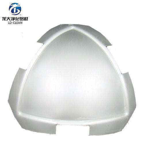 磨砂63顶球净化铝材阴角净化房铝材三通配件顶球