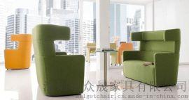 休闲沙发 高隔会客沙发定制 商务接待沙发批发