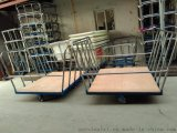 出廠直銷:佛山紡織車間用膠板承布車,耐撞擊布料運輸裝布車,服裝漂染廠用衣物染色車