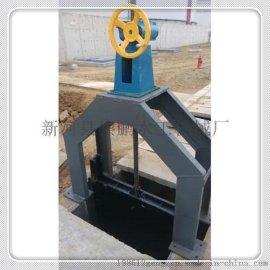 安徽工业园区水闸门安装图纸,厂家直销3乘3米平面钢闸门,崇鹏货真价实