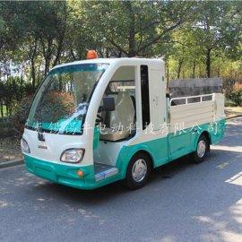 无锡景区物业电动垃圾运输车售价,带液压围板