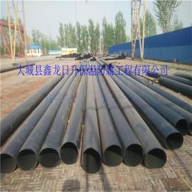 高密度聚乙烯外套管 聚氨酯黑夹克保温管