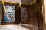 广东饰面板厂家供货深圳南山前海东岸花园售楼中心饰面板工程案例