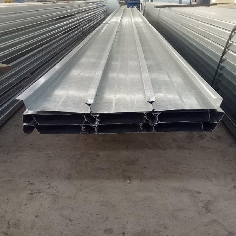 勝博YX48-200-600型閉口式樓承板 鍍鋅壓型樓板鞍鋼Q345鍍鋅承重板300mpa樓承板0.7mm-2.0mm厚