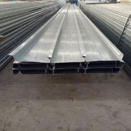 胜博YX48-200-600型闭口式楼承板 镀锌压型楼板鞍钢Q345镀锌承重板300mpa楼承板0.7mm-2.0mm厚