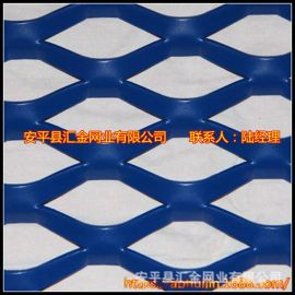 鋁板拉伸網,定制加工,外形任意裁剪。