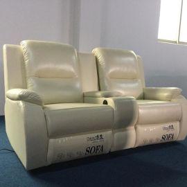USB接口影院电动沙发,家庭影院现代单人沙发厂家