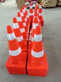 67高PVC方锥 PVC70高路锥厂家