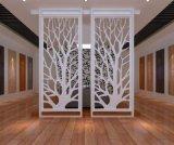 别致中式铝窗花格 装饰隔断铝屏风 户外铝窗花格