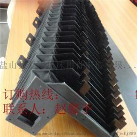 珠海旺磐HFG4080油压水磨床专用立柱风琴防护罩