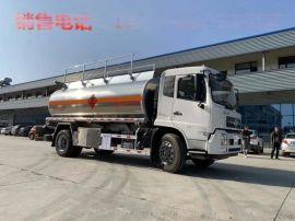楚胜东风天锦铝合金运油车   10-12吨