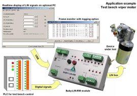 USB与LIN总线接口协议转换(带数字输入和数字输出接口)