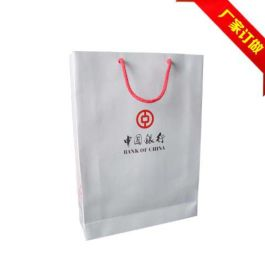 广告礼品包装袋,银行手提袋,定制环保纸袋